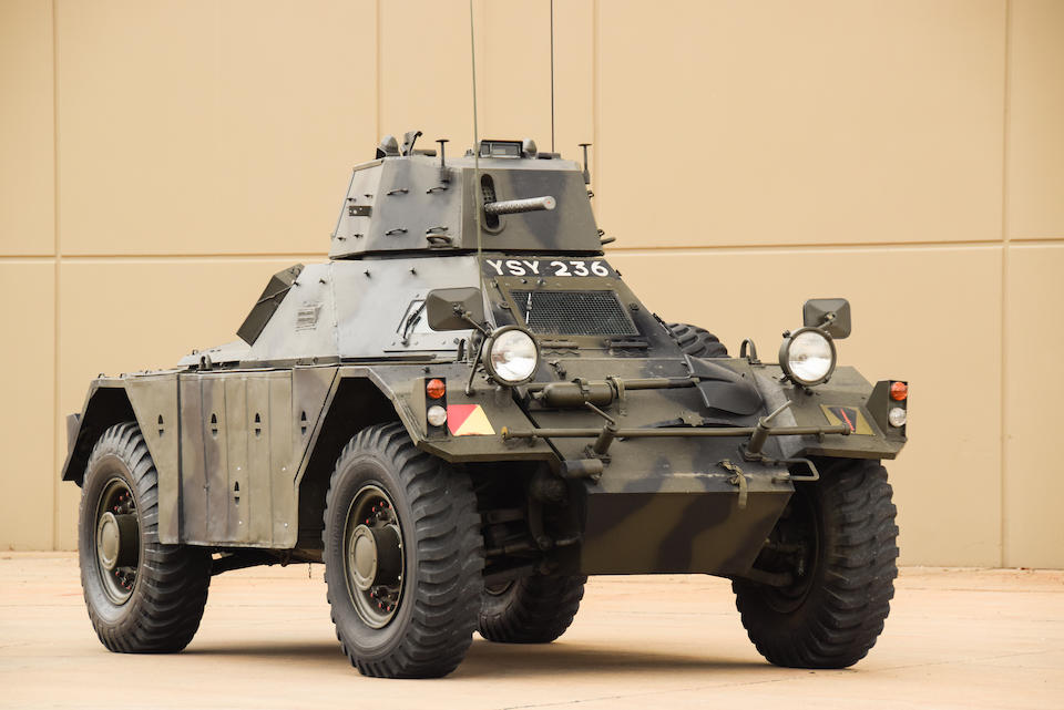 <b>1958 DAIMLER FERRET SCOUT CAR</b><br />Chassis no. 16791158<br />Engine no. 16184