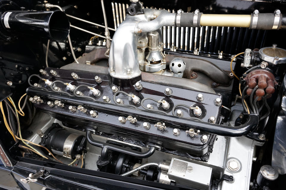 <b>1920 Packard 3-35 TWIN SIX CUSTOM Tourer</b><br />Chassis no. 160466<br />Engine no. 160466