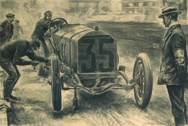 Carlo Demand 1908 French Grand Prix