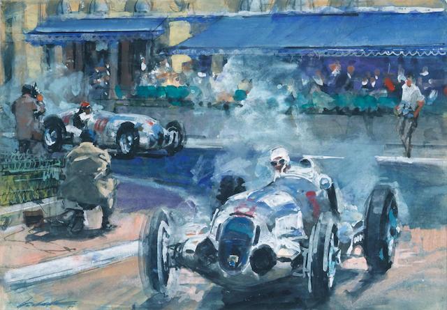 Walter Gotschke, 1933 Monaco