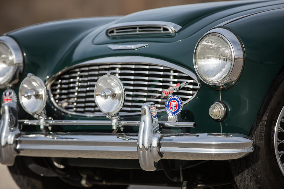 <b>1960 Austin Healey 3000 MK I BT7</b><br />Chassis no. HBT7L 9299<br />Engine no. 29D-RV-H/14569