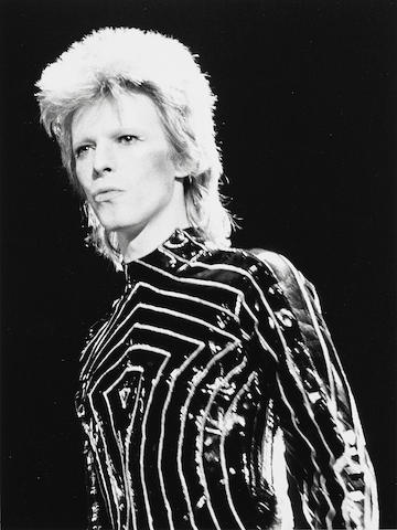 A Richard Creamer photograph of David Bowie