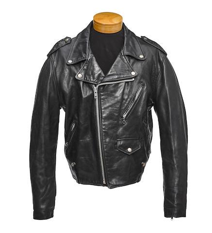 A Joey Ramone leather jacket worn in Final Rinse