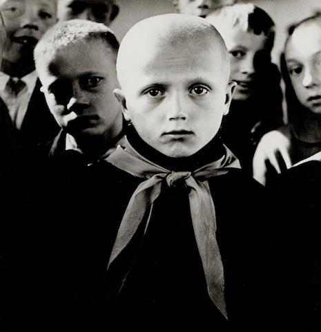 Antanas Sutkus (born 1939); Pioneer, from People of Lithuania Series;