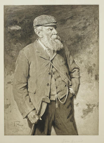 AFTER SIR GEORGE REID: A PHOTOGRAVURE OF OLD TOM MORRIS Berlin Photographic Company, 1903