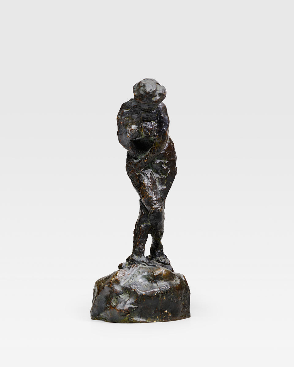 Émile-Antoine Bourdelle (1861-1929) Ève, étude 10 7/8 in (27.8 cm) (height) (Conceived in 1908, this bronze was cast circa 1960 in an edition of six)