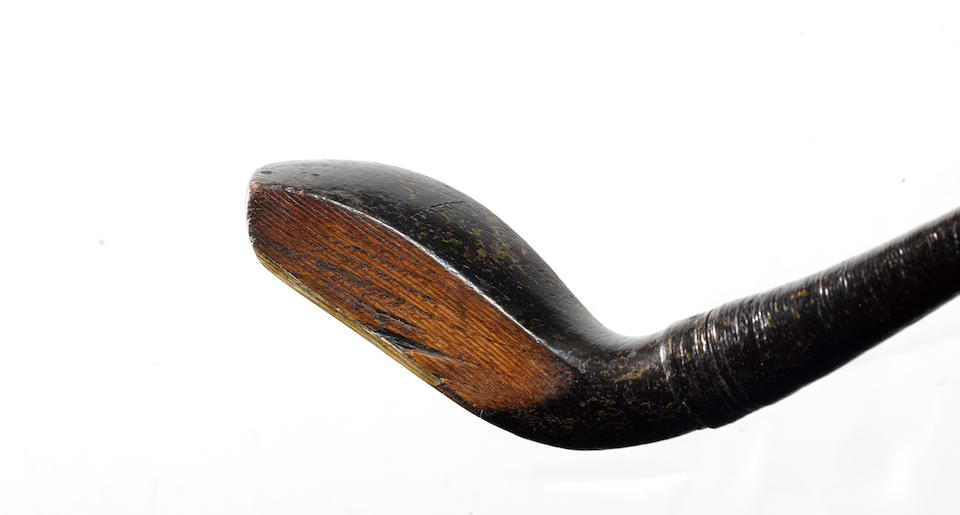 JOHN PATRICK: A LONG NOSE SHORT SPOON CIRCA 1860