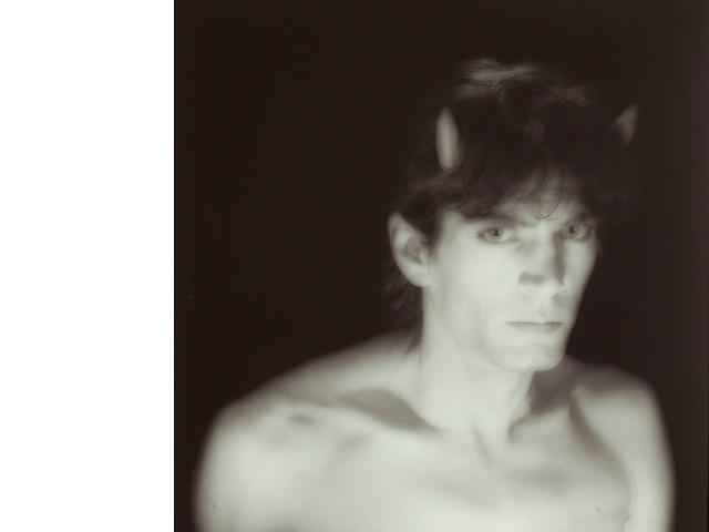 Robert Mapplethorpe (1946-1989); Self-Portrait with Horns;