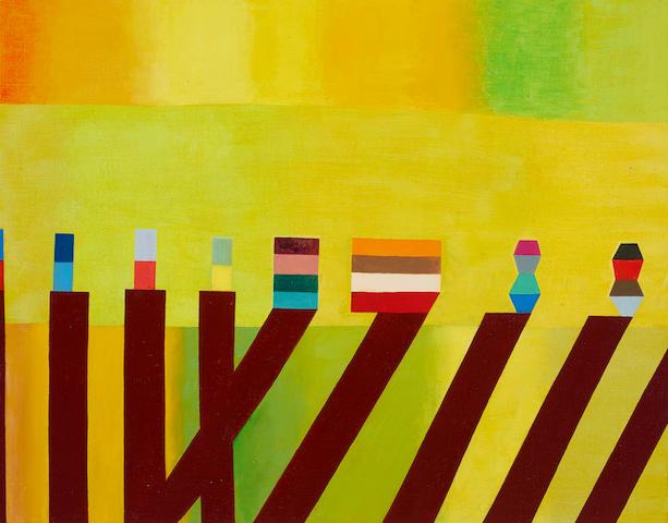 Thomas Nozkowski (born 1944) Untitled (8-130), 2010 22 x 28 in. (55.9 x 71.1 cm)