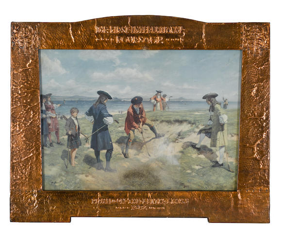 AFTER ALLAN STEWART: 'THE FIRST INTERNATIONAL FOURSOME' PLAYED ON LEITH LINKS 1682