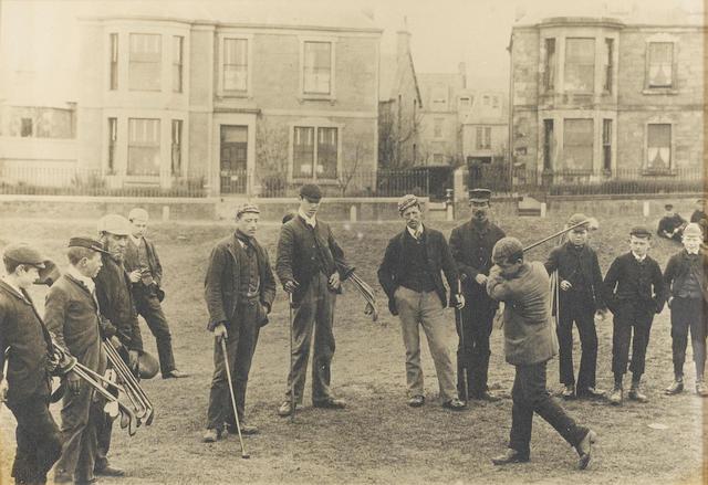 BASS ROCK GOLF CLUB: GOLF ON NORTH BERWICK LINKS CIRCA 1878