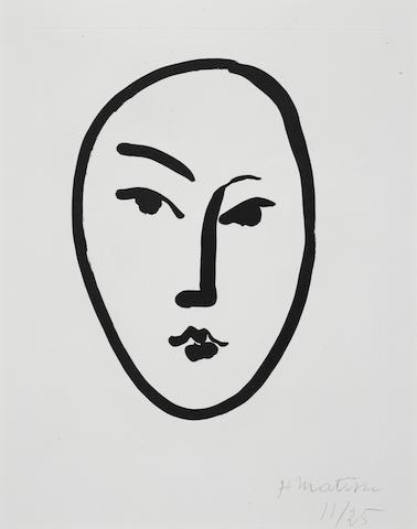Henri Matisse (1869-1954); Grand Masque;