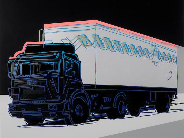 Andy Warhol (1928-1987); Truck;