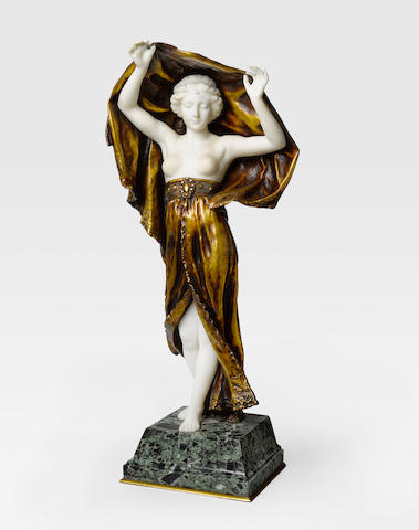 Affortunato Gory (French, 1895-1925) Harem dancer Height: 25in (63.5); height with base: 28 1/4in (72cm)