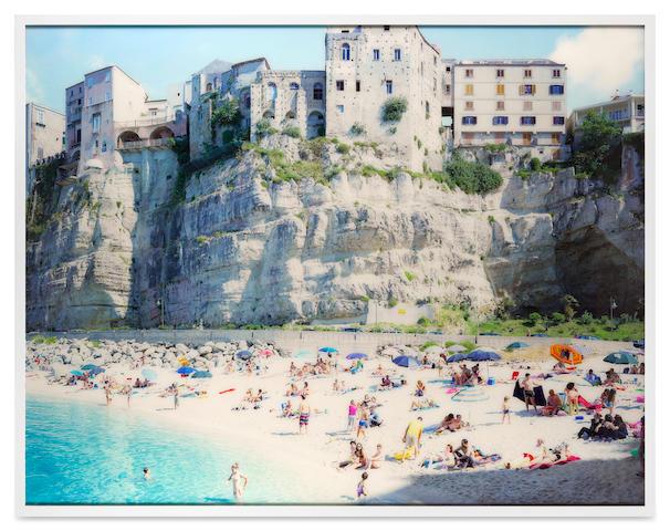 Massimo Vitali (born 1944); Tropea Shadow (#4874), Calabria, Italy;