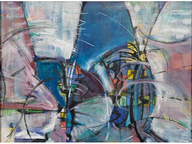 Sam  Francis (1923-1994) Untitled, 1947  22 x 30 in. (55.9 x 76.2 cm)