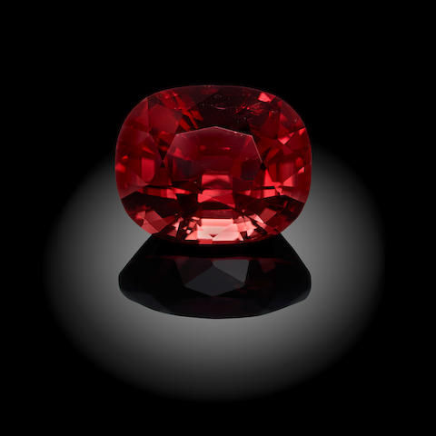 Firey Red Spinel