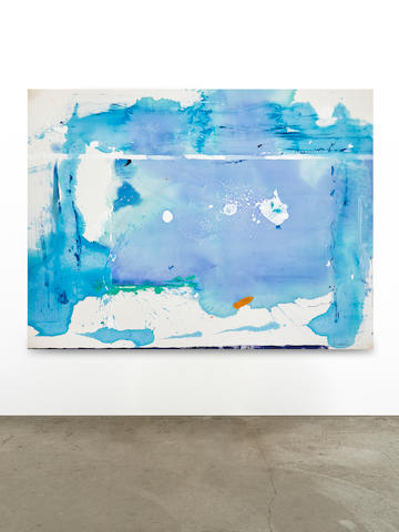 HELEN FRANKENTHALER (1928-2011) Summer Angel, 1984