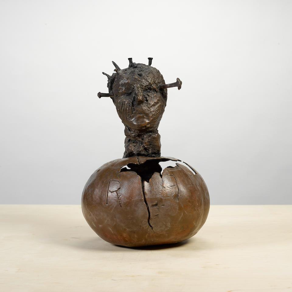 Guy Ferrer (born 1955) Citrouille, 1996 17 x 12 x 11 in. (43.2 x 30.5 x 27.9 cm)
