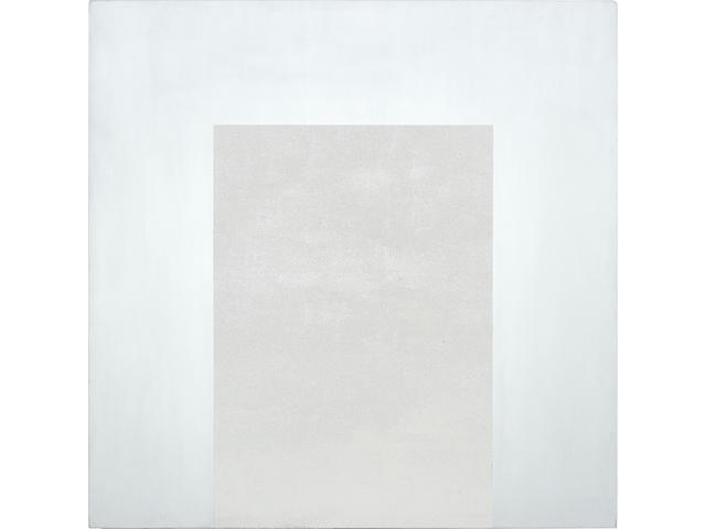 Mary Corse (born 1945) White Arch Series, 1990 36 x 36 in. (91.4 x 91.4 cm) unframed