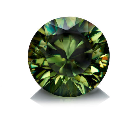 Large and Exceptional Demantoid Garnet