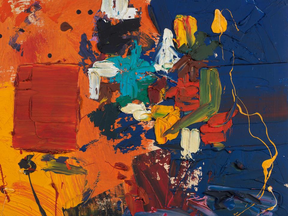 HANS HOFMANN (1880-1966) A Certain Mood, 1959