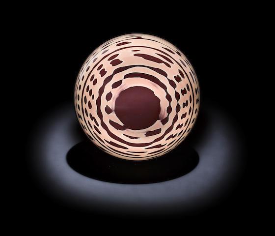 """""""Zebrastone"""" Sphere—A Mineralogical Mystery"""