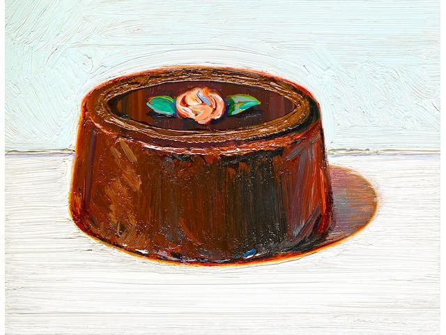 WAYNE THIEBAUD (b. 1920) Camellia Cake, 1995