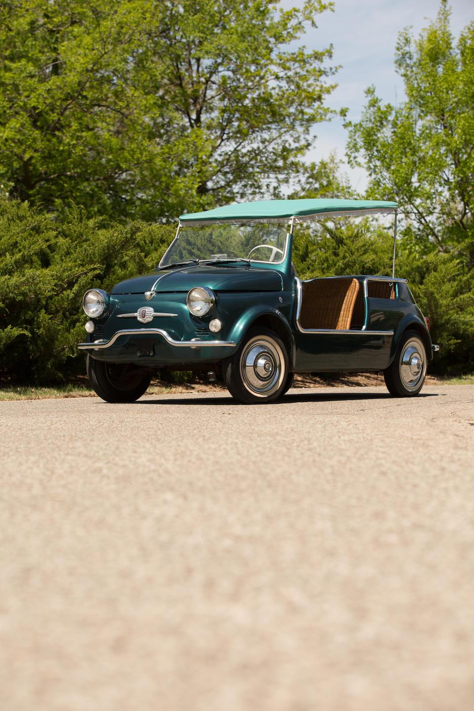 <b>1958 Fiat 500 JOLLY BEACH CAR</b><br />Chassis no. 110 031297<br />Engine no. 110 000 0033949
