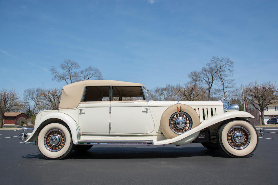 <b>1932 Chrysler CL Imperial Custom Convertible Sedan</b><br />Chassis no. 7803380<br />Engine no. CL-1080
