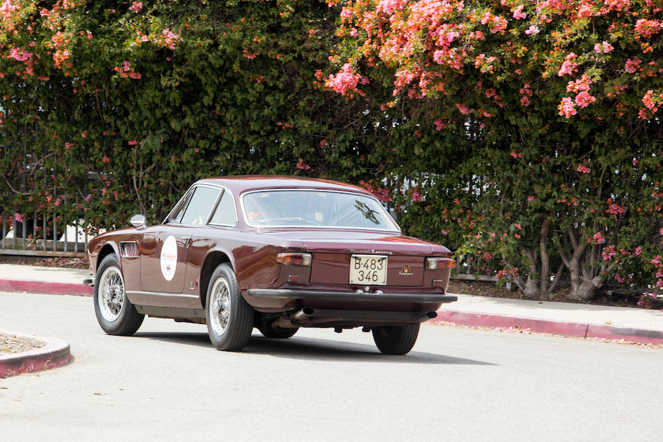 <b>1966 Maserati Sebring Series II 3700 Coupe</b><br />Chassis no. AM101S 10403<br />Engine no. AM101S 10403