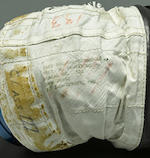 NEIL ARMSTRONG APOLLO-ERA TRAINING GLOVE, Issued to Neil Armstrong with his Beta cloth tag