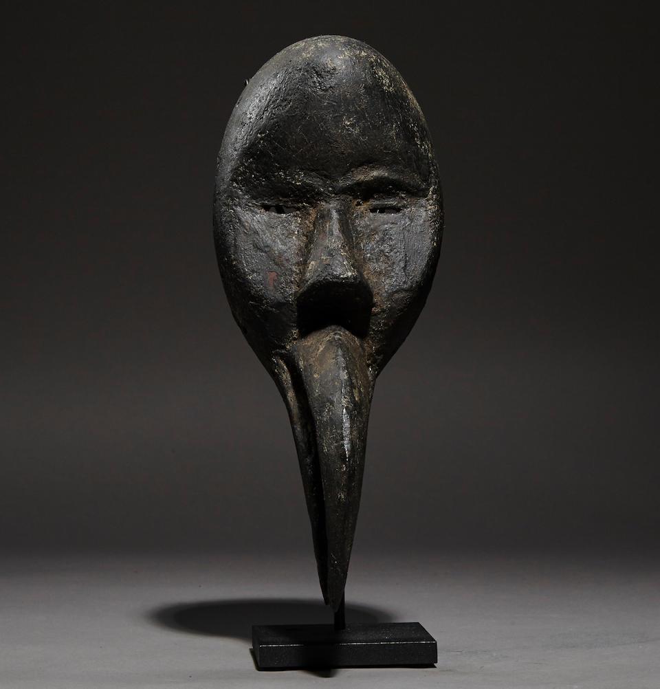 Loma Miniature Clan Mask, Liberia/Ivory Coast