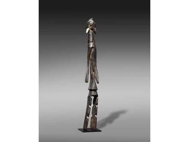 Mumuye Standing Female Figure, Nigeria