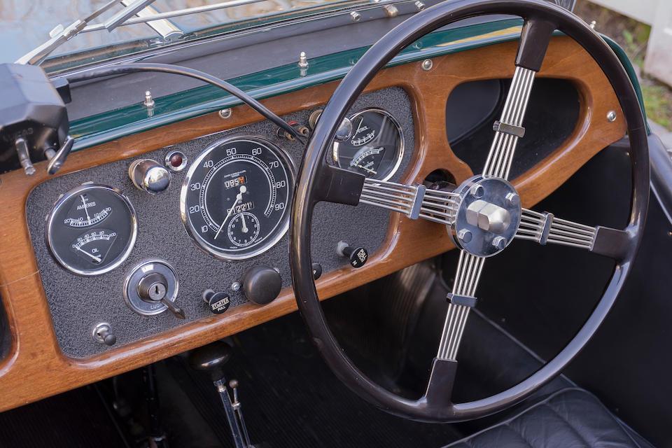 <b>1936 Morgan 4/4 SERIES 1 ROADSTER</b><br />Chassis no. 096<br />Engine no. M68