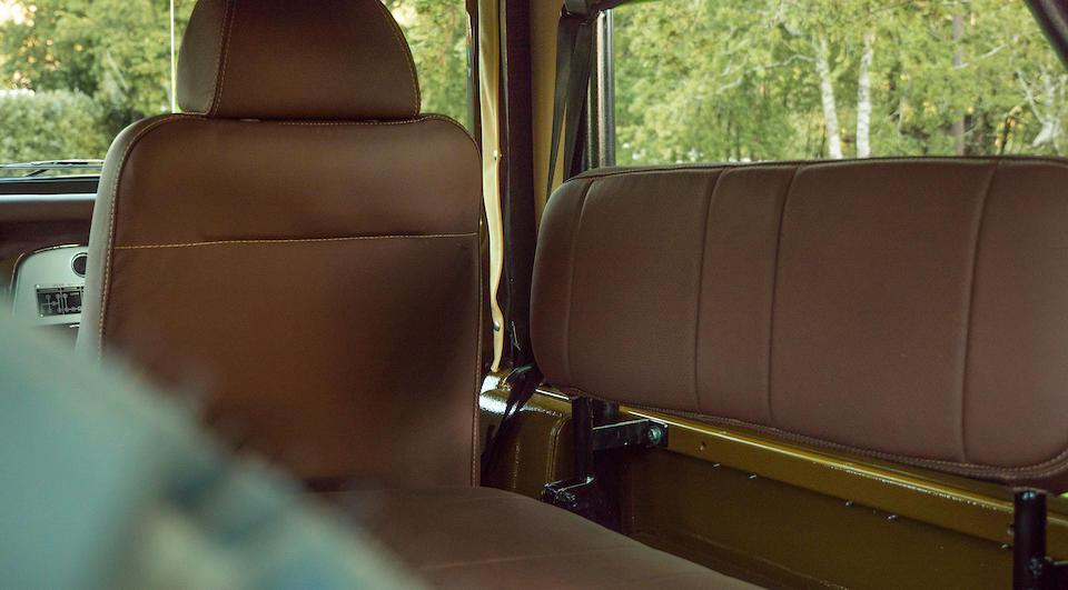 <b>1982 Toyota Land Cruiser BJ40 Convertible</b><br />Chassis no. BJ40–056551