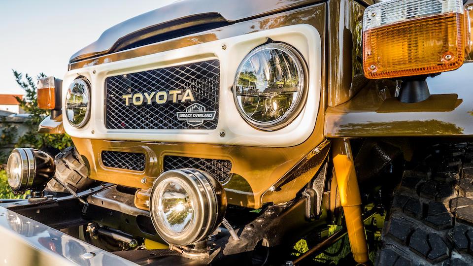 <b>1982 Toyota Land Cruiser BJ40 Convertible</b><br />Chassis no. BJ40&#8211;056551