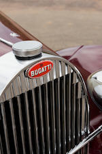 <b>1937 Bugatti Type 57 Pillarless Sports Coupe</b><br />Chassis no. 57443<br />Engine no. (see text)