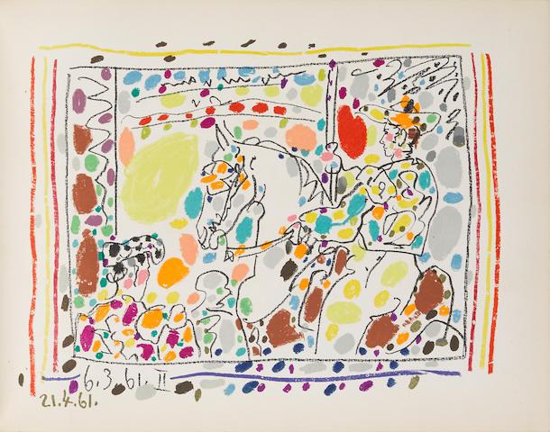 Pablo Picasso (1881-1973); A Los Toros avec Picasso by Jaime Sabartés ;