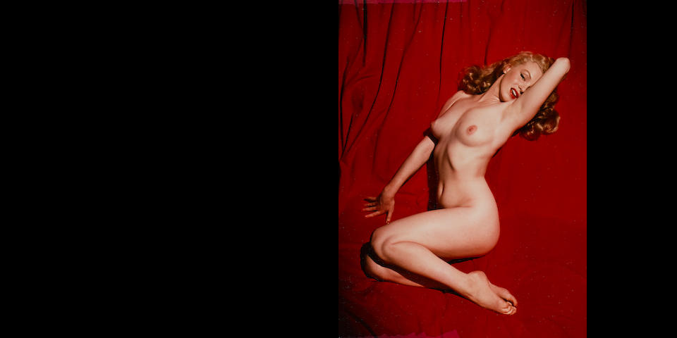 "Tom Kelley (1914-1984); Marilyn Monroe, Centerfold for First Issue of ""Playboy"" Magazine;"