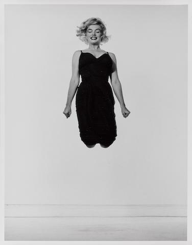 Philippe Halsman (1906-1979); Marilyn Monroe, Jumping;
