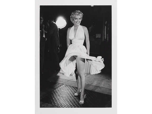 "George S. Zimbel (born 1929); Marilyn Monroe on the set of ""The Seven Year Itch"";"