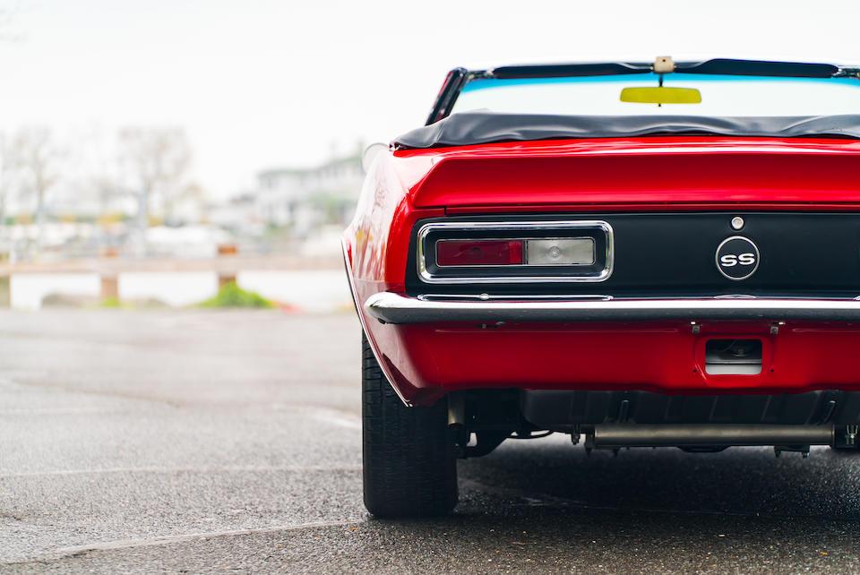 <b>1967 Chevrolet CAMARO SS CONVERTIBLE</b><br />Chassis no. 124677N221699