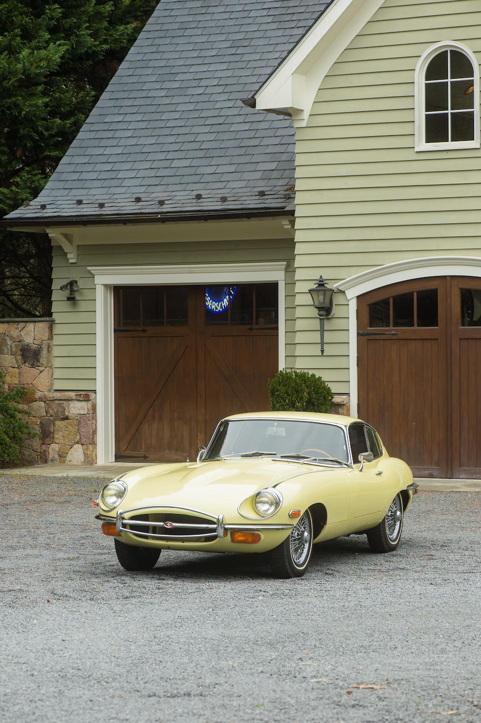 <b>1969 Jaguar E-TYPE SERIES 2 4.2-LITER COUPE</b><br />Chassis no. 1R25351<br />Engine no. 7R2113-9