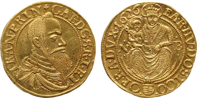 Transylvania, Gabriel Bethlen, 1626-NB Gold Ducat