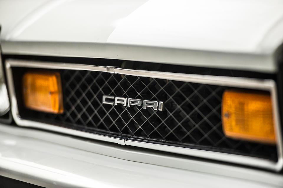 <b>1976 Mercury Capri</b><br />Chassis no. GAECSD54813