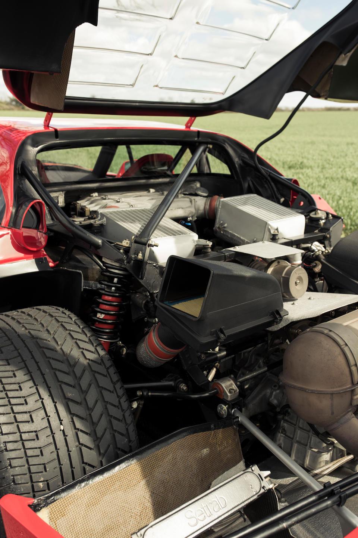 <b>1990 Ferrari F40</b><br />VIN. ZFFGJ34B000084539