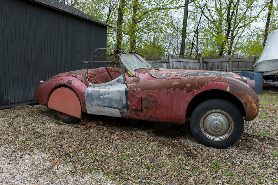 <b>1953 Jaguar XK120 Roadster</b><br />Chassis no. 673676<br />Engine no. W7667 - 8