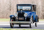 <b>1923 Rickenbacker B6 Coupe</b><br />Chassis no. 10585<br />Engine no. 10505