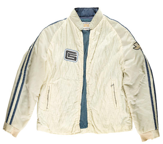 A Shelby American Ford GT40 Team jacket by Martin of California, 1965,
